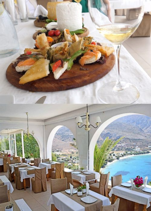 Appetizers and Dining Venue